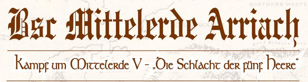 """Bild von der Einladung zum Turnier """"Kampf um Mittelerde V"""""""